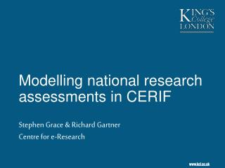 Modelling national research assessments in CERIF