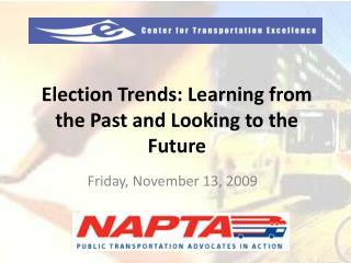 Election Trends: Learning from the Past and Looking to the Future