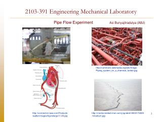 2103-391 Engineering Mechanical Laboratory