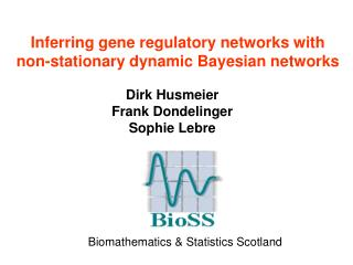 Inferring gene regulatory networks with non-stationary dynamic Bayesian networks