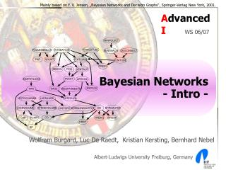 Bayesian Networks - Intro -