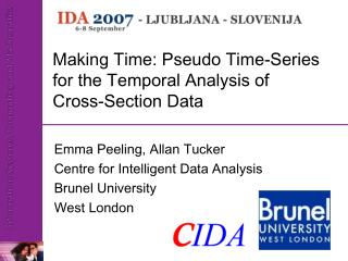 Making Time: Pseudo Time-Series for the Temporal Analysis of  Cross-Section Data