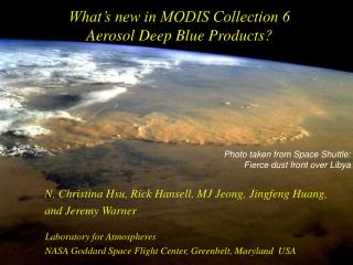What's new in MODIS Collection 6  Aerosol Deep Blue Products?