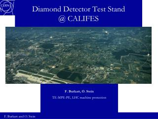 Diamond Detector Test Stand  @ CALIFES