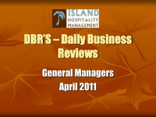 DBR'S – Daily Business Reviews