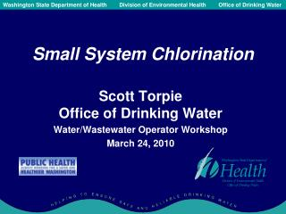 Small System Chlorination