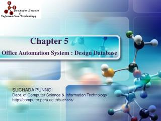 Office Automation System : Design Database