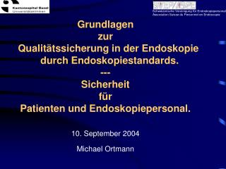 10. September 2004 Michael Ortmann