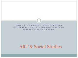 ART & Social Studies