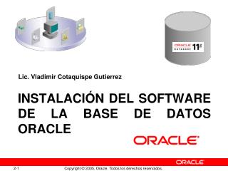 Instalación del Software de la Base de Datos Oracle