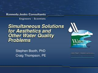 Simultaneous Solutions for Aesthetics and Other Water Quality Problems