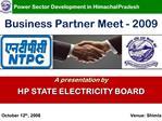 Power Sector Development in Himachal Pradesh