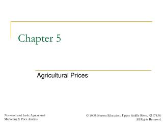 Agricultural Prices