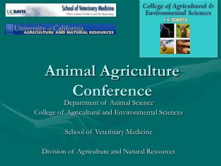 Animal Agriculture Conference