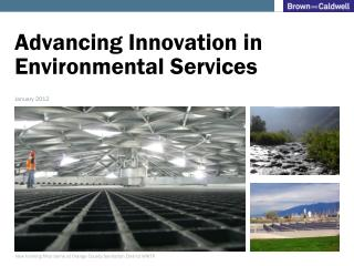Advancing Innovation in Environmental Services