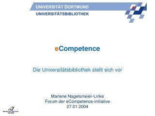 e Competence