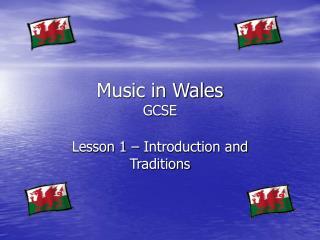 Music in Wales GCSE