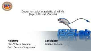 Documentazione assistita di  ABMs (Agent- Based Models )