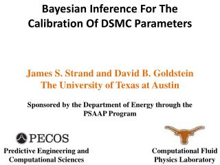Bayesian Inference For The Calibration Of  DSMC  Parameters