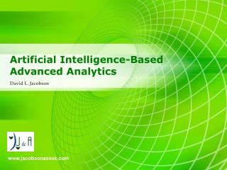 Artificial Intelligence-Based Advanced Analytics