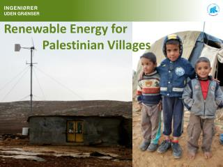 Renewable Energy for  					Palestinian Villages