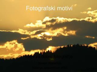 Fotografski motivi