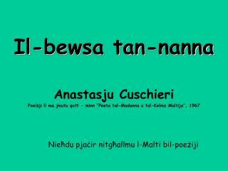 Il-bewsa tan-nanna