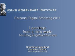 Christina  Engelbart Executive Director dougengelbart