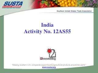 India Activity No. 12AS55