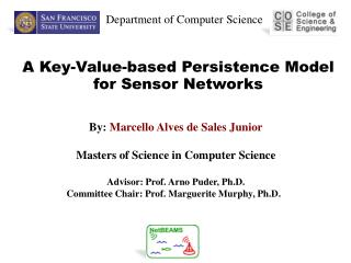 A Key-Value-based Persistence Model for Sensor Networks