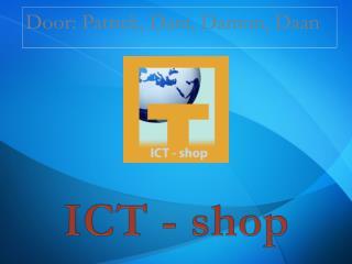ICT - shop