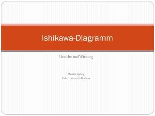 Ishikawa -Diagramm