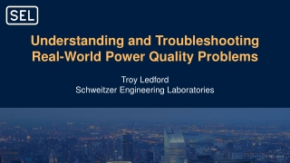 Harmonics in Power Systems and  Electrical Power Quality