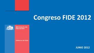 Congreso FIDE 2012