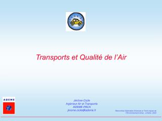 Transports et Qualit� de l�Air
