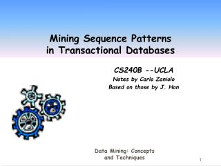 Mining Sequence Patterns  in Transactional Databases