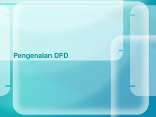 Pengenalan  DFD