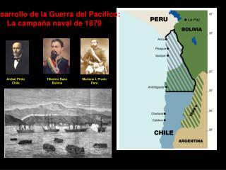 Desarrollo de la Guerra del Pacífico: La campaña naval de 1879
