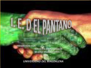 I. E. D EL PANTANO