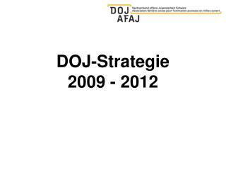 DOJ-Strategie  2009 - 2012