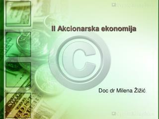 II A kcionarska ekonomija