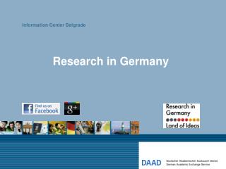 Research in Germany