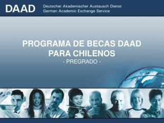 PROGRAMA DE BECAS DAAD PARA CHILENOS  - PREGRADO -