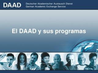 El DAAD y sus programas