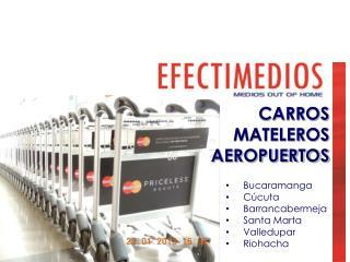 CARROS  MATELEROS  AEROPUERTOS