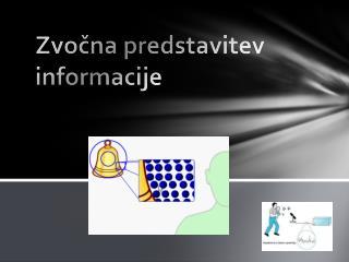 Zvočna predstavitev informacije