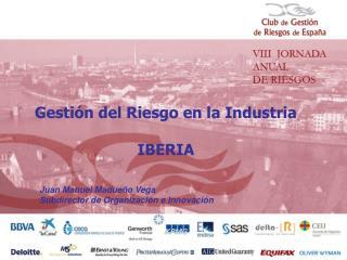 Gestión del Riesgo en la Industria IBERIA