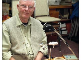 Guest tyer, Barry Gibson