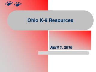 Ohio K-9 Resources