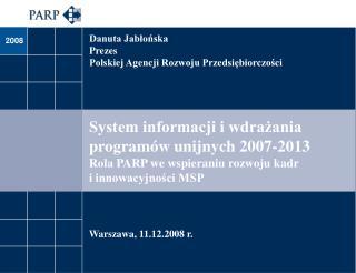 Warszawa ,  11.12.2008 r.